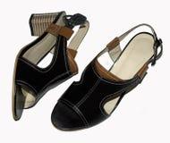 Women& x27; sandali di s Fotografia Stock Libera da Diritti