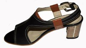 Women& x27; sandalo di s Fotografie Stock Libere da Diritti