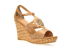 Women sandals Royalty Free Stock Photography