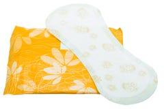 Women sanitary pad. Stock Photo