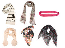 Women scarves Stock Image