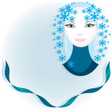 Women of seasons Royalty Free Stock Images