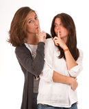 Women secret Stock Image