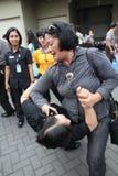Women self defense Stock Photo
