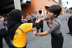 Women self defense Royalty Free Stock Images