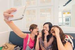Women selfie Royalty Free Stock Image