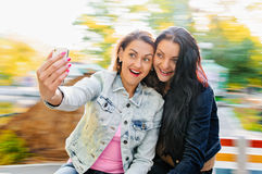 Women selfie Royalty Free Stock Photo