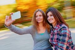 Women selfie Stock Photo