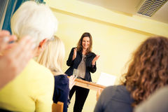 Women Only Seminar Stock Images