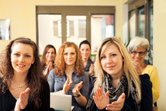 Women Only Seminar Royalty Free Stock Photos