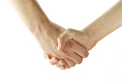 Women shaking hands Royalty Free Stock Photo