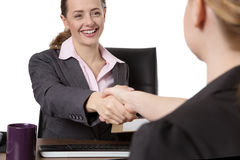 Women shaking hands Royalty Free Stock Images