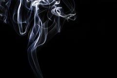 Women shaped smoke. In the studio Stock Photo