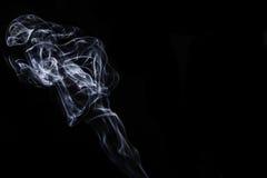 Women shaped smoke. In the studio Stock Image