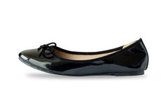 Women shoe  on white Royalty Free Stock Images