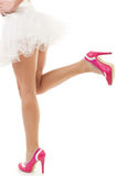 Women and shoes Royalty Free Stock Photos