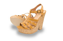 Women shoes Rascal Royalty Free Stock Images