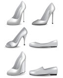 Women shoes templates for designers Stock Photo