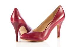Women shoes. On white background stock photo