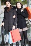 Women shopping Stock Photography