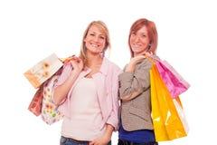 Women Shopping Royalty Free Stock Photo