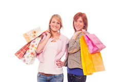 Women Shopping Stock Images