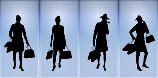 Women Shopping 2 Royalty Free Stock Images