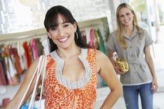 Women Shopping Stock Image