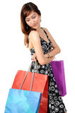 Women shopping Stock Image