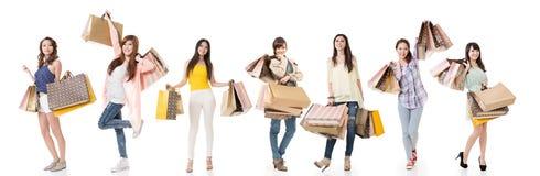 Women shopping Stock Photos