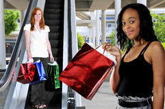 Women Shopping Bags Royalty Free Stock Image