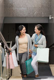 Women with shopping bags Royalty Free Stock Photos
