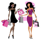 Women shopping bags Stock Photo