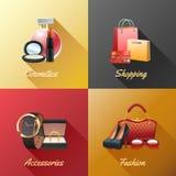 Women Shopping Design Concept vector illustration