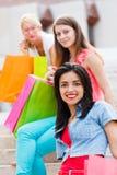 Women Shopping Royalty Free Stock Image