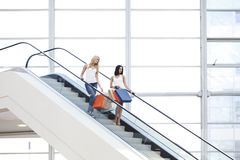Women in shopping mall Stock Photos