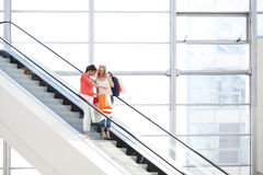 Women in shopping mall Royalty Free Stock Image