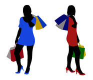Women Shopping Royalty Free Stock Image