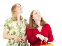 Women on shopping tour Royalty Free Stock Photos