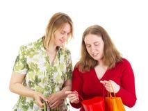 Women on shopping tour Stock Photo