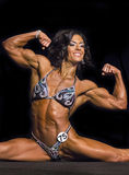 Women Show Off Amazing Physiques in Vancouver Royalty Free Stock Photos