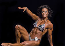 Women Show Off Amazing Physiques in Vancouver Royalty Free Stock Images