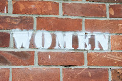 Women sign Stock Photography