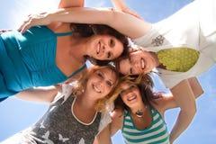 Women in the sky Stock Photos