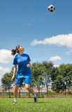 Women soccer Stock Photography