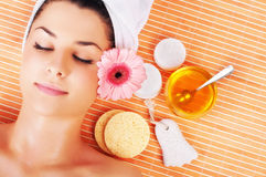 Women in Spa Royalty Free Stock Photos