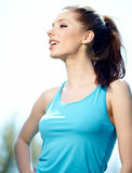 Women and sport Royalty Free Stock Photography