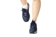 Women sports shoes Stock Photos