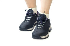 Women sports shoes Royalty Free Stock Photos