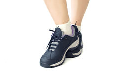 Women sports shoes Stock Photo